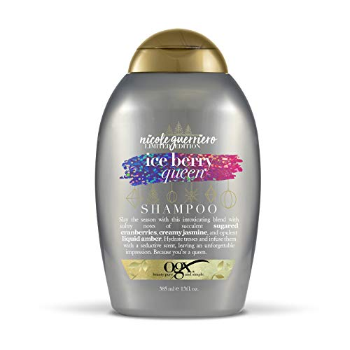 (OGX Nicole Guerriero Limited Edition Ice Berry Queen Shampoo, 13 Ounce)