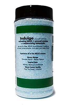 Eucalyptus Mint Aromatherapy Bath Salts -17 Oz– Natural Minerals for Soaking Aches, Pains & Stress Relief for Spa, Bath