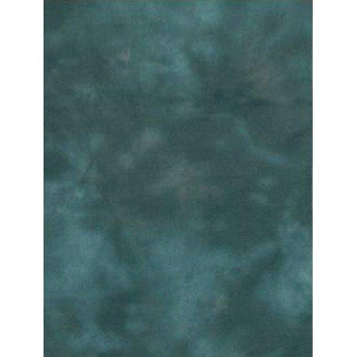 Backdrop Alley Aqua Night/Blue Meadow Reversible Handpainted Muslin Photo Background, 10' x 12' Blue Hand Painted Muslin