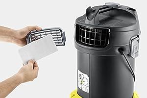 Kärcher Aspirador en seco y de ceniza AD 4 Premium 600W, 17L (1.629-731.0): Amazon.es: Hogar