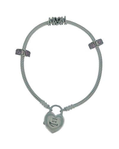 95eab10649b4 Amazon.com: PANDORA MOM Bracelet and Charms Mother's Day 2019 Gift ...