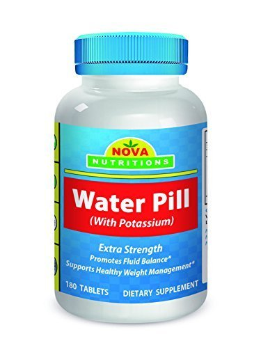 Nova Nutritions Water Pills with Potassium 180 Tablets