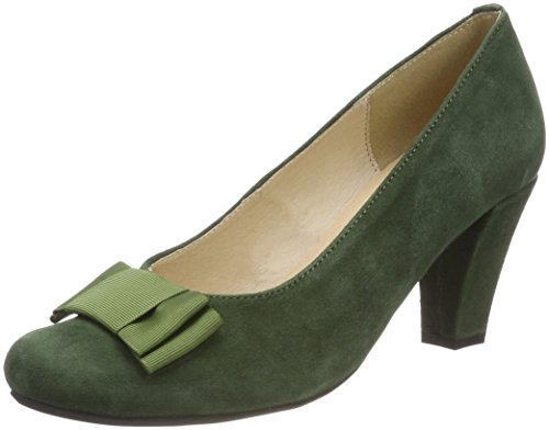 Green 1004504 Hirschkogel 147 Toe Closed Heels Women's Tanne pSPRqwn6