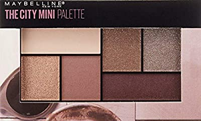 Maybelline Makeup The City Mini Eyeshadow Palette, Concrete Jungle Eyeshadow, 0.14 oz