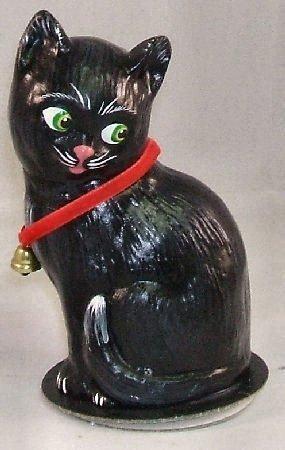 Ino Schaller Halloween (Ino Schaller Paper Mache Halloween Black Cat with)