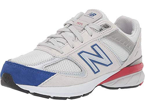 New Balance Boys' 990v5, White, 13.5 Wide US Toddler by New Balance