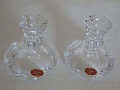 Gorham Classique Crystal Candlestick - Pair of 3