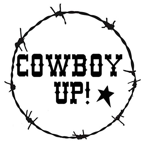 (OutletBestSelling Stencil Cowboy Up! Barbed Wire Border Western Country Rustic 6