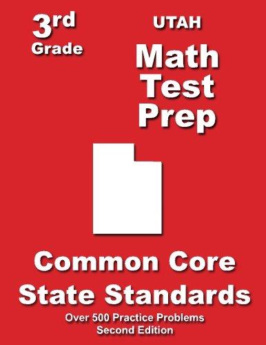 Utah 3rd Grade Math Test Prep: Common Core State Standards