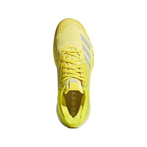 Femme Crazyflight De blanc Jaune Adidas Volleyball gris Chaussures Argentã Flash X 2 YqqdI