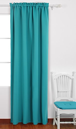 Deconovo Curtains Darkening Insulated Turquoise