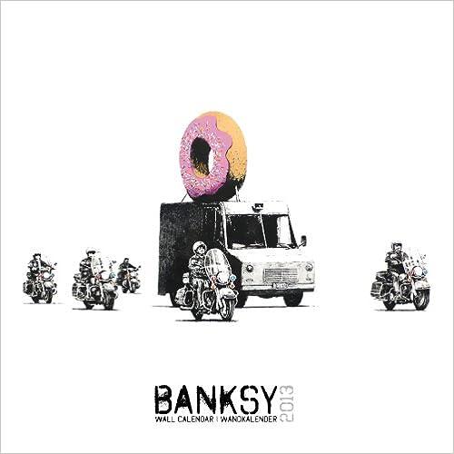 Banksy 2013 Calendar
