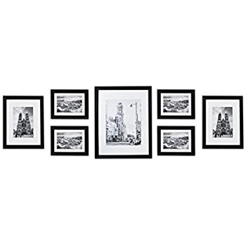 Amazon.com - Golden State Art Wall Frames Collection, Black Wood ...