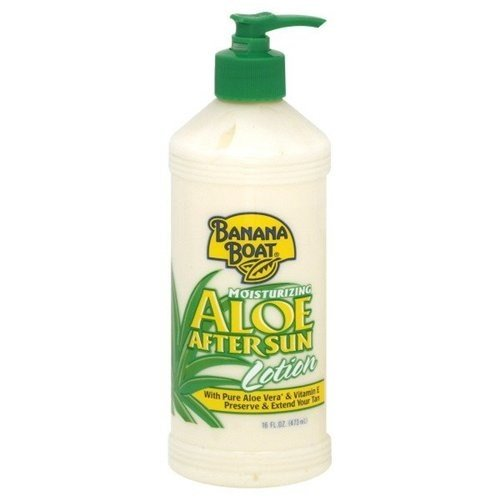 Banana Boat Aloe After Sun Lotion Pump 16oz (3 Pack)