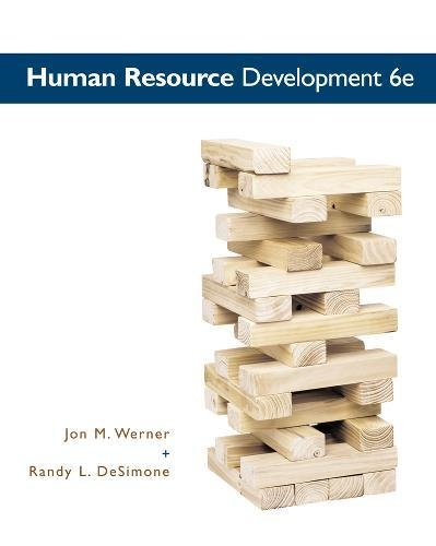 Human Resource Development (MindTap Course List)