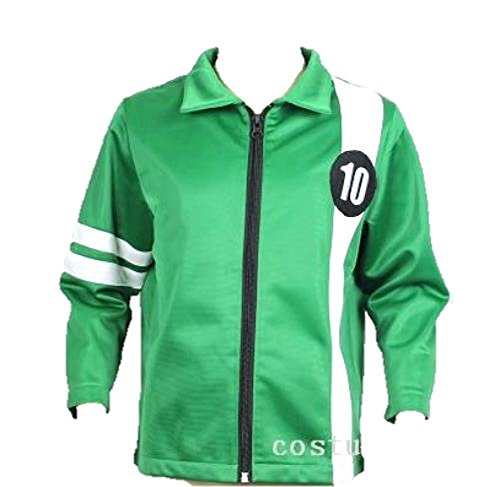 Ben 10 Jacket Aliens Force Kids Boys Cosplay Benjamin irby Tennyson Ten (Age 6-8)