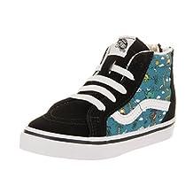 Vans Toddlers Sk8-Hi Zip (Dino Party Train) Skate Shoe