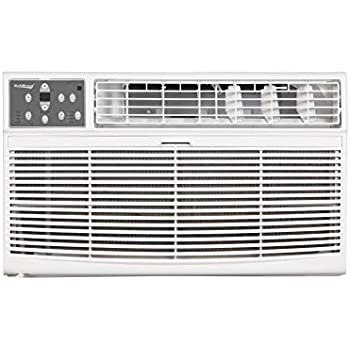 Koldfront WTC10001W 10000 BTU 208/230V Through The Wall Air Conditioner with 10600 BTU Heater with Remote