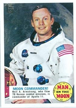 Neil Armstrong trading card (Apollo 11 NASA Moon Commander 1969 Astronaut) 2013 Topps #53 from Autograph Warehouse