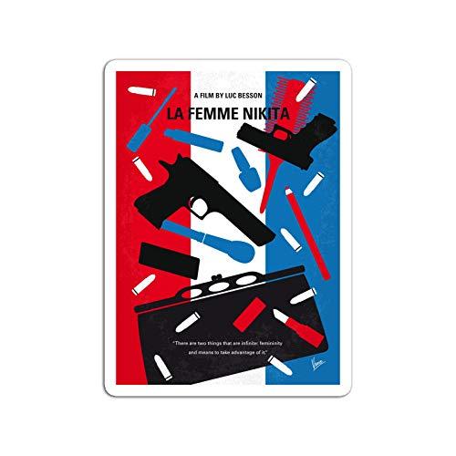 BreathNenStore Sticker Motion Picture No545 My La Femme Nikita Minimal Movie Convicte Movies Video Film (3