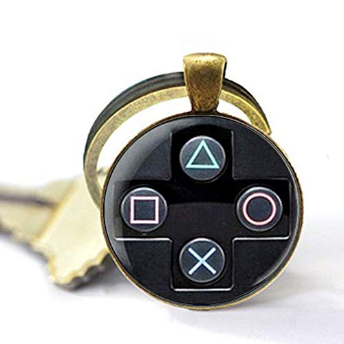 Playstation Controller Boyfriend Perfect Gift, idea Jewelry, Glass Photo Necklace Charm,Gift -