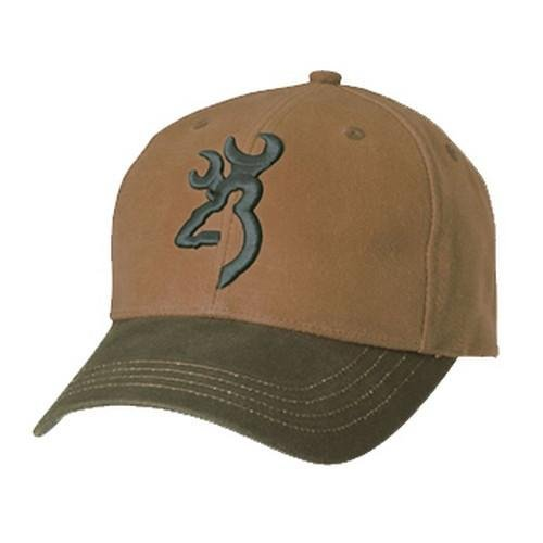 Browning Repel-Tex Cap, Acorn/Olive, Semi-Fitted