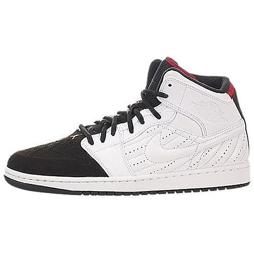 Nike Jordan Men's Air Jordan 1 Retro '99 White/Black/Gym Red Basketball  Shoe 11 Men US