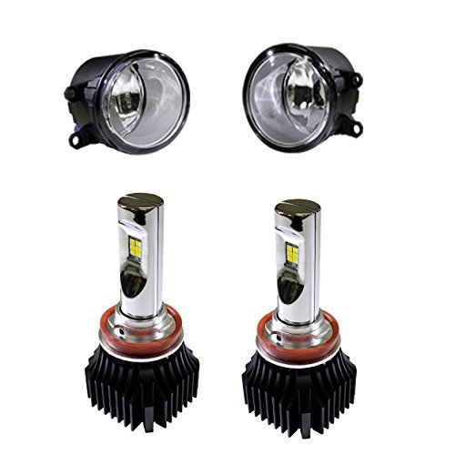 ピカキュウ トヨタ ランドクルーザー プラド[TRJ/GDJ150系 後期] ガラスレンズフォグランプユニット付 凌駕-RYOGA-L4800 LED フォグランプ 3000K 4800l H11(H8/H11/H16兼用) 66030 B077YDQ1Z7