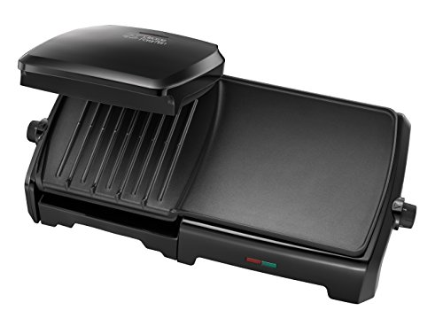 -[ George Foreman 23450 Entertaining Grill & Griddle, 10 portion, 2180 Watt  ]-
