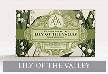 Amazon.com: AAA Floral Lily Of The Valley Triple Milled Soap 200g by Aromas Artisanales de Antigua: Beauty