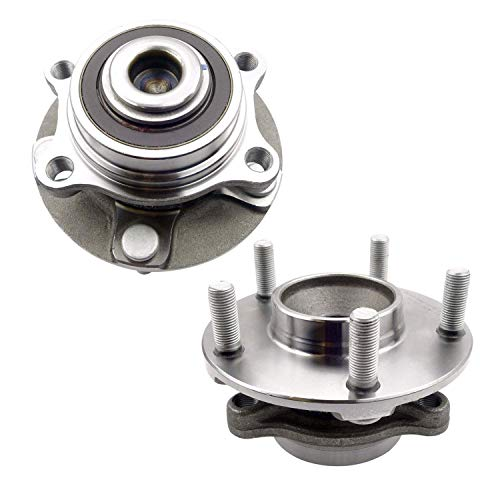 (Bodeman - Pair (2) Front Wheel Hub and Bearing Assembly for 2004 2005 2006 Infiniti G35 RWD; Sedan or Coupe ONLY / 2003-2008 Nissan 350Z / 2009 Nissan 350Z Convertible ONLY)