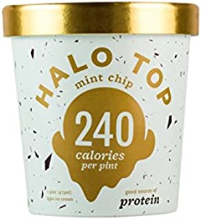 product image for Halo Top Mint Chip Ice Cream,, 16 Ounce (Pack of 8)