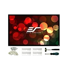 Elite Screens ezFrame2 Series, 100-inch Diagonal 16:9, Fixed Frame Home Theater Projection Screen, Model: R100WH2