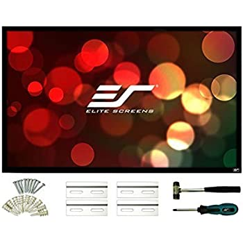 Elite Screens ezFrame 2 Series, 120-inch Diagonal 16:9, Fixed Frame Home Theater Projection Screen, Model: R120H2