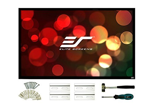 Elite Screens ezFrame 2 Series, 100-inch Diagonal 16:9, Fixed Frame Home Theater Projection Screen, Model: R100WH2