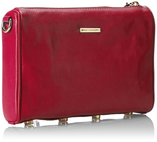 Rebecca Minkoff Mini 5-Zip Convertible Cross-Body Handbag