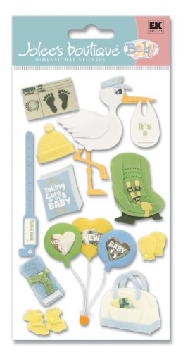 Jolee's Boutique Bringing Baby Home Stickers