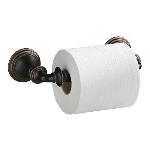 KOHLER K-R10554-BRZ Devonshire Toilet Paper Holder in Oil-Rubbed - Devonshire Post Double