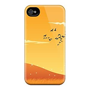 Awesome Case Cover/iphone 4/4s Defender Case Cover(autumn Orange)