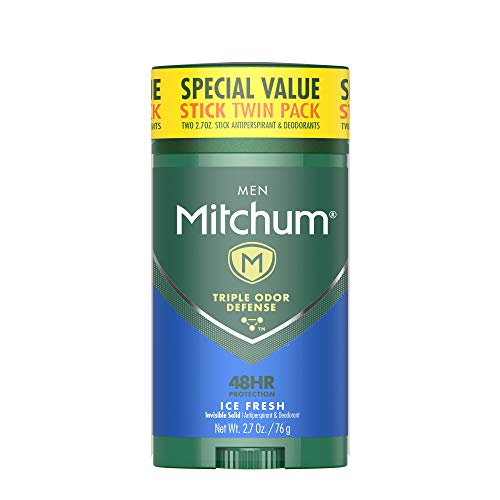 Mitchum Men Antiperspirant & Deodorant Stick Twin Pack, 2.70oz. by Mitchum