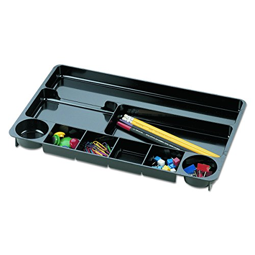 Universal 08120 Recycled Drawer Organizer, Nine Compartments, Plastic, 14 x 9 x 1 1/8