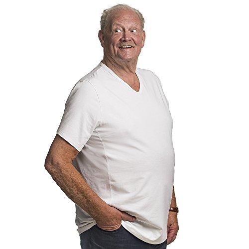 Les Pour 2xl Tshirts Taille Tailles Classic shirts Cm 112 Conçus Alca Encolure « Spécialement » Des Avec Une V 178 Hommes T Lot De En 2 qZv7wxaA