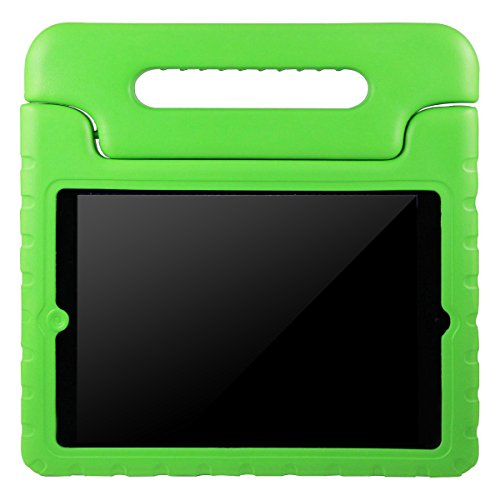 AVAWO Apple iPad 2 3 4 Kids Case - Light Weight Shock Proof Convertible Handle Stand Kids Friendly for iPad 2, iPad 3rd generation, iPad 4th generation Tablet - Green