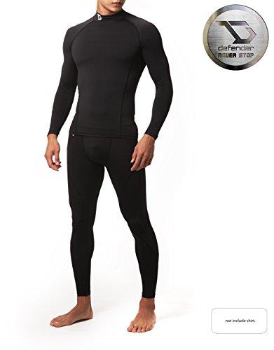 Defender Men's Compression Baselayer Pants Legging Shorts Shirts Tights Running