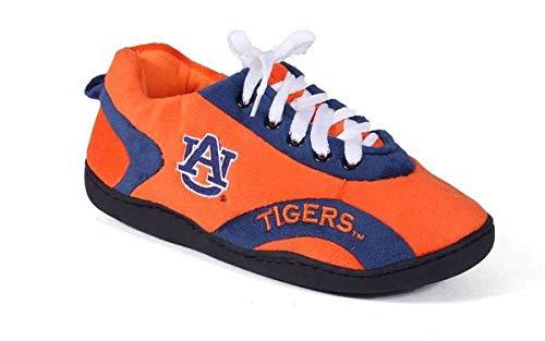 AUB05-5 - Auburn Tigers - 2XL - Happy Feet Mens and Womens All Around Slippers