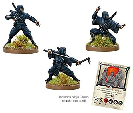 Amazon.com: Test Of Honour Ninjas Blister - Metal: Toys & Games