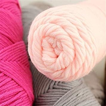 Artes, manualidades y costura - 100 G 23 colores largo ...
