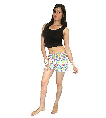 Esportazioni fatte Yoga Donne Mini mano elastico a pantaloni colorato palestra Solido Pantaloncini Estate Vita alta FFqwWrCg