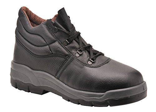 Portwest FW20 - Bota de trabajo no Seguridad, color Negro, talla 48 negro
