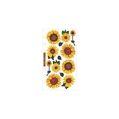 Vellum Stickers - Sunflowers (Stickers Sunflower Wall)